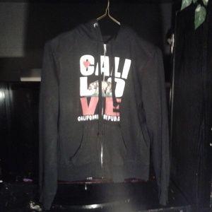 Reflex Cali love women's hoodie